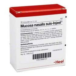 Mucosa nasalis suis-Injeel 10 Amp.