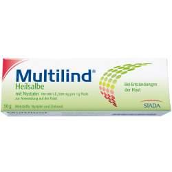 Multilind® Heilsalbe m. Nystatin 100.000 I.E./200 mg / 1 g Paste zur Anwendung auf der Haut 50g