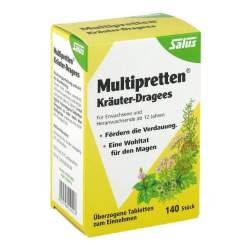 Multipretten Kräuter-Dragees Salus 140 St.