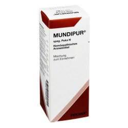 Mundipur spag. Pekana N Saft 150 ml