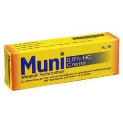 Muni 0,5% HC Creme 5 g