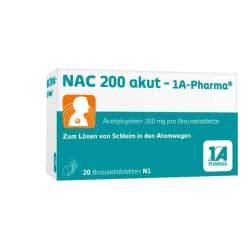 NAC 200 akut- 1A-Pharma®, 20 Brausetbl.