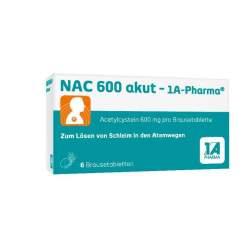 NAC 600 akut- 1A-Pharma® 6 Brausetbl.
