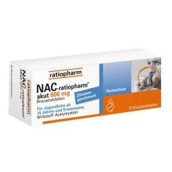 NAC-ratiopharm® akut 600mg Hustenlöser 10 BT