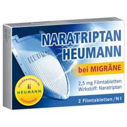Naratriptan Heumann b.Migräne 2,5 mg 2 Filmtbl.