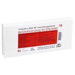 Natriumchlorid Lsg. 10% Eifelfango 10x10ml Amp.