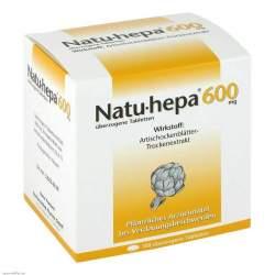 Natu-hepa® 600mg, 100 überzogene Tbl.