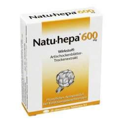 Natu-hepa® 600mg, 20 überzogene Tbl.