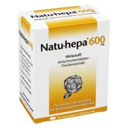 Natu-hepa® 600mg, 50 überzogene Tbl.