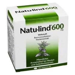 Natu-lind® 600 mg, überzogene 100 Tabletten