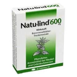 Natu-lind® 600 mg, überzogene 20 Tabletten