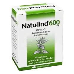 Natu-lind® 600 mg, überzogene 50 Tabletten