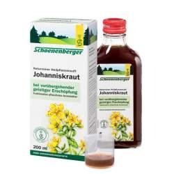 Naturreiner Heilpflanzensaft Johanniskraut 200ml