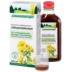 Naturreiner Heilpflanzensaft Johanniskraut 600ml