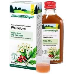 Naturreiner Heilpfl.saft Weißdorn 200ml