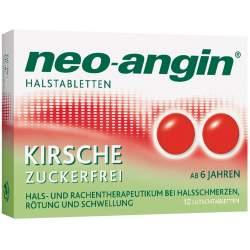 neo-angin® Halstabletten Kirsche 12 Lutschtabletten