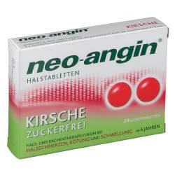 neo-angin® Halstabletten Kirsche 24 Lutschtabletten