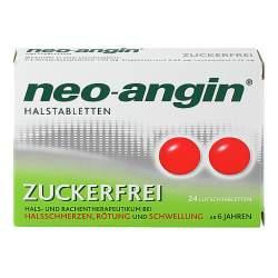 neo-angin® Halstabletten zuckerfrei 24 St.