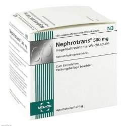 Nephrotrans® 500 mg 100 magensaftresistente Weichkapseln