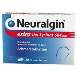Neuralgin® extra Ibu-Lysinat 400 mg 20 Filmtabletten