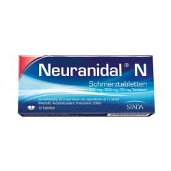 Neuranidal® N Schmerztbl. 250 mg/200 mg/50 mg 10 Tbl.