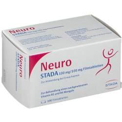 Neuro STADA 100mg/100mg 100 Filmtbl.