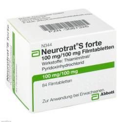 Neurotrat® S forte, 100 mg/100 mg, 84 Filmtbl.