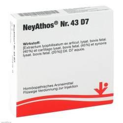 NeyAthos Nr. 43 D7 Amp. 5x2ml