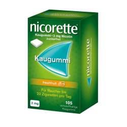 Nicorette® 2mg freshfruit 105 Kaugummi