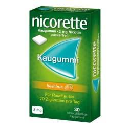 Nicorette® 2mg freshfruit 30 Kaugummi