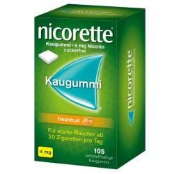 Nicorette® 4mg freshfruit 105 Kaugummi