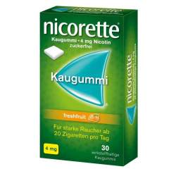 Nicorette® 4mg freshfruit 30 Kaugummi