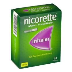 Nicorette® Inhaler 15mg, 20 Patronen + 1 Mundstück