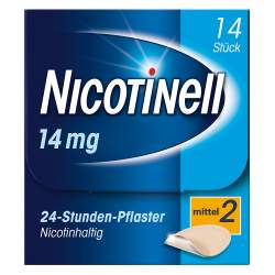 Nicotinell® 14 mg/24-Stunden-Pflaster, 14 Pflaster