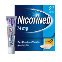 Nicotinell® 14 mg/24-Stunden-Pflaster, 21 Pflaster