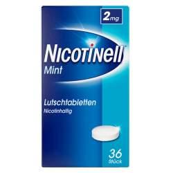 Nicotinell® 2 mg 36 Lutschtabletten Mint