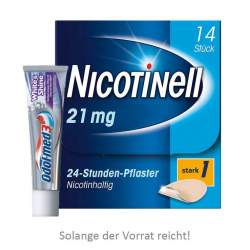 Nicotinell® 21 mg/24-Stunden-Pflaster, 14 Pflaster