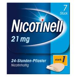 Nicotinell® 21 mg/24-Stunden-Pflaster, 7 Pflaster