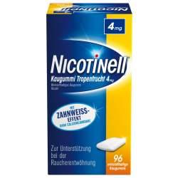 Nicotinell Kaugummi 4mg Tropenfrucht 96 St.
