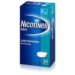 Nicotinell® Lutschtabletten 1 mg Mint 36 St.