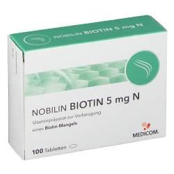 Nobilin Biotin 5mg N 100 St.
