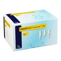 NovoFine® Autocover® 0,3 x 8 mm 30G 100 Inj.-nadeln