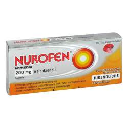 Nurofen Immedia 200 mg 10 Weichkapseln