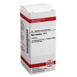 Nux vomica D6 DHU 80 Tbl.