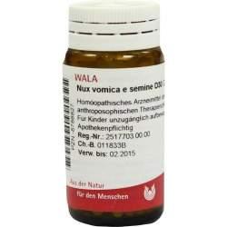 Nux Vomica E Semine D30 Wala Glob. 20g