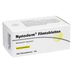 Nystaderm Filmtabletten 100 Filmtbl.