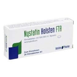 Nystatin Holsten FTA 500.000 I.E., 20 Filmtbl.