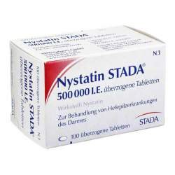 Nystatin STADA® 500.000 I.E. 100 überzog. Tbl.