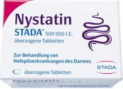 Nystatin STADA® 500.000 I.E. 50 überzog. Tbl.