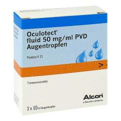 Oculotect® fluid 50 mg/ml PVD Augentr. 3x10ml